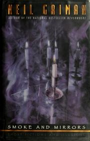 Book cover for Smoke and Mirrors by Neil Gaiman