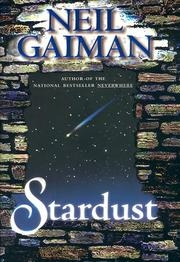 Book cover for Stardust by Neil Gaiman