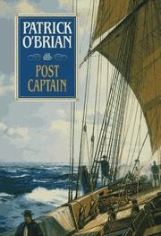 Book cover for Post Captain by Patrick O'Brian