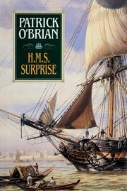 Book cover for H.M.S. Surprise by Patrick O'Brian