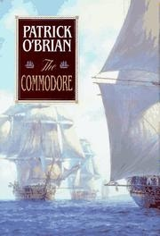 Book cover for The Commodore by Patrick O'Brian