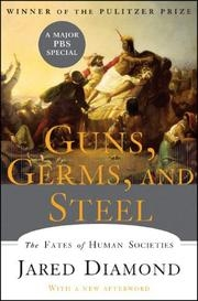 Book cover for Guns, Germs, and Steel by Jared Diamond
