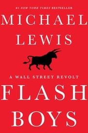 Book cover for Flash Boys by Michael Lewis