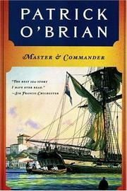 Book cover for Master and Commander by Patrick O'Brian