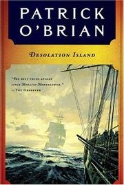 Book cover for Desolation Island by Patrick O'Brian