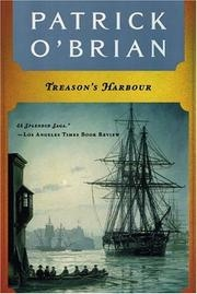 Book cover for Treason's Harbour by Patrick O'Brian