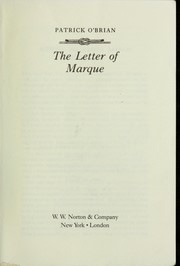 Book cover for The Letter of Marque by Patrick O'Brian