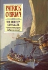Book cover for The Thirteen-Gun Salute by Patrick O'Brian