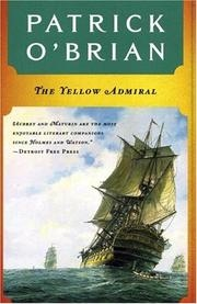 Book cover for The Yellow Admiral by Patrick O'Brian