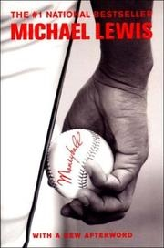 Book cover for Moneyball by Michael Lewis