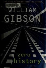 Book cover for Zero History by William Gibson