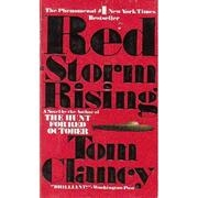 Book cover for Red Storm Rising by Tom Clancy
