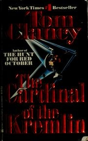 Book cover for The Cardinal of the Kremlin by Tom Clancy