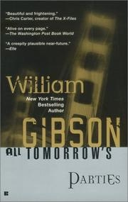 Book cover for All Tomorrow's Parties by William Gibson