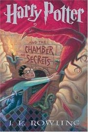 Book cover for Harry Potter and the Chamber of Secrets by J.K. Rowling
