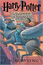 Book cover for Harry Potter and the Prisoner of Azkaban by J.K. Rowling