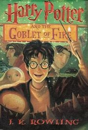 Book cover for Harry Potter and the Goblet of Fire by J.K. Rowling