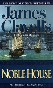 Book cover for Noble House by James Clavell