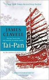 Book cover for Tai-Pan by James Clavell