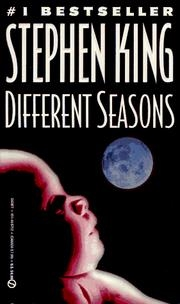 Book cover for Different Seasons by Stephen King