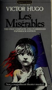Book cover for Les Misérables by Victor Hugo