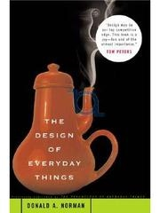 Book cover for The Design of Everyday Things by Donald A. Norman