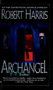 Book cover for Archangel by Robert Harris