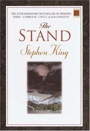 Book cover for The Stand by Stephen King