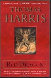 Book cover for Red Dragon by Thomas Harris