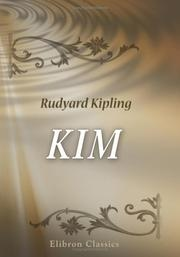 Book cover for Kim by Rudyard Kipling