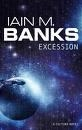 Book cover for Excession by Iain M. Banks