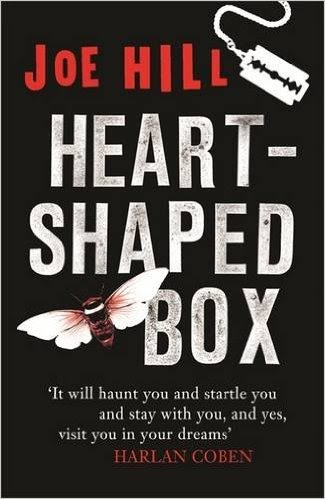 Book cover for Heart Shaped Box by Joe Hill