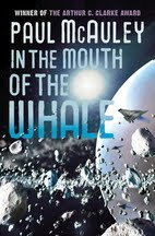 Book cover for In the Mouth of the Whale by Paul McAuley