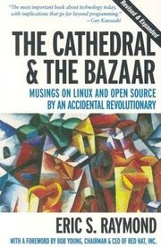 Book cover for The Cathedral & The Bazaar by Eric S. Raymond
