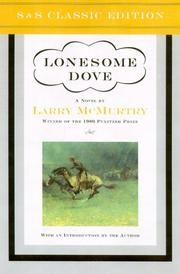 Book cover for Lonesome Dove by Larry McMurtry