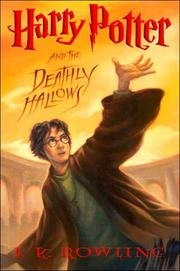 Book cover for Harry Potter and the Deathly Hallows by J.K. Rowling