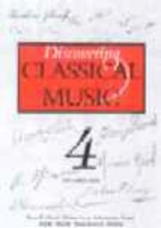 Book cover for Discovering Classical Music by Ian Christians