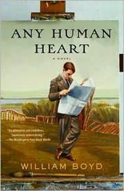 Book cover for Any Human Heart by William Boyd