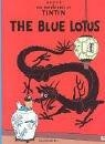 Book cover for The Blue Lotus (The Adventures of Tintin) by Herge