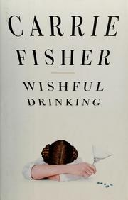 Book cover for Wishful Drinking by Carrie Fisher