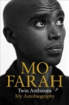 Book cover for Twin Ambitions - My Autobiography by Mo Farah
