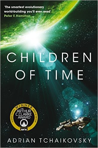Book cover for Children of Time by Adrian Tchaikovsky