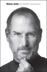 Book cover for Steve Jobs by Walter Isaacson