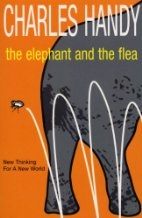 Book cover for The Elephant and the Flea by Charles Handy
