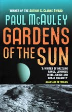 Book cover for Gardens of the Sun by Paul Mcauley