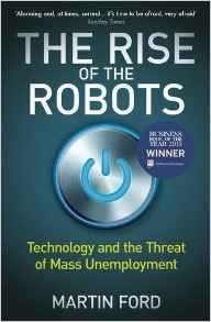 Book cover for The Rise of The Robots by Martin Ford