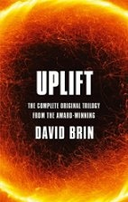 Book cover for Uplift by David Brin