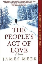 Book cover for The People's Act of Love by James Meek