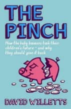 Book cover for The Pinch by David Willets