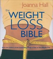 Book cover for The Weight-Loss Bible by Joanna Hall